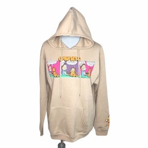 Garfield Tastes Like Old Hyena Hooded Sweatshirt